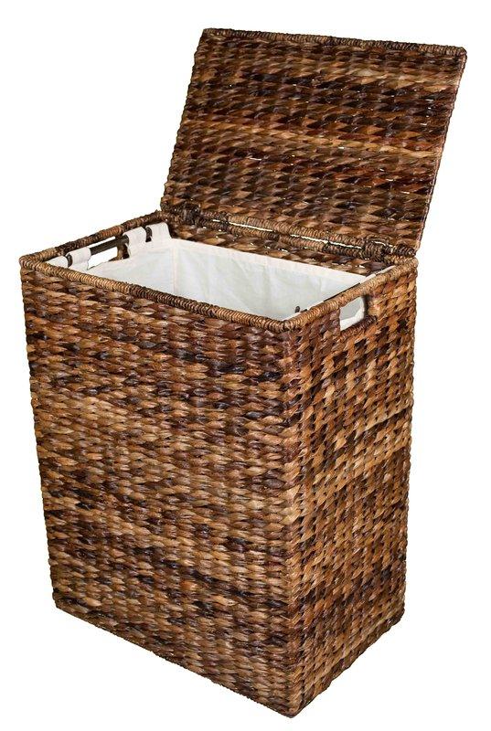 wicker laundry basket abaca wicker laundry hamper NJWQLLI