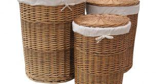 wicker laundry basket round wicker laundry hamper with lid designs LMYSBUG