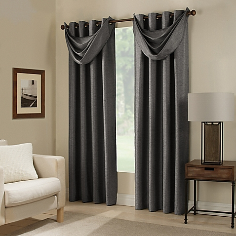 window drapes image of paradise room darkening grommet top window curtain panel and  valance NRETONU