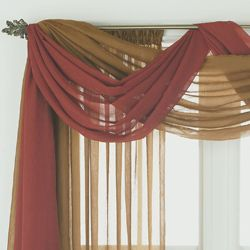 window scarves how to make scarves to drape on windows GQNLDSB
