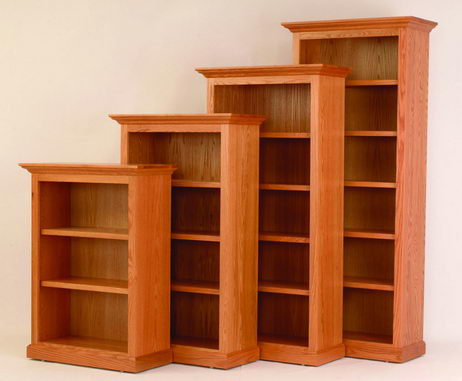 wood bookcases amish 36 ODSTUHN