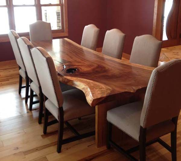wood dining table custom slab dining tables - google search CNODIEV