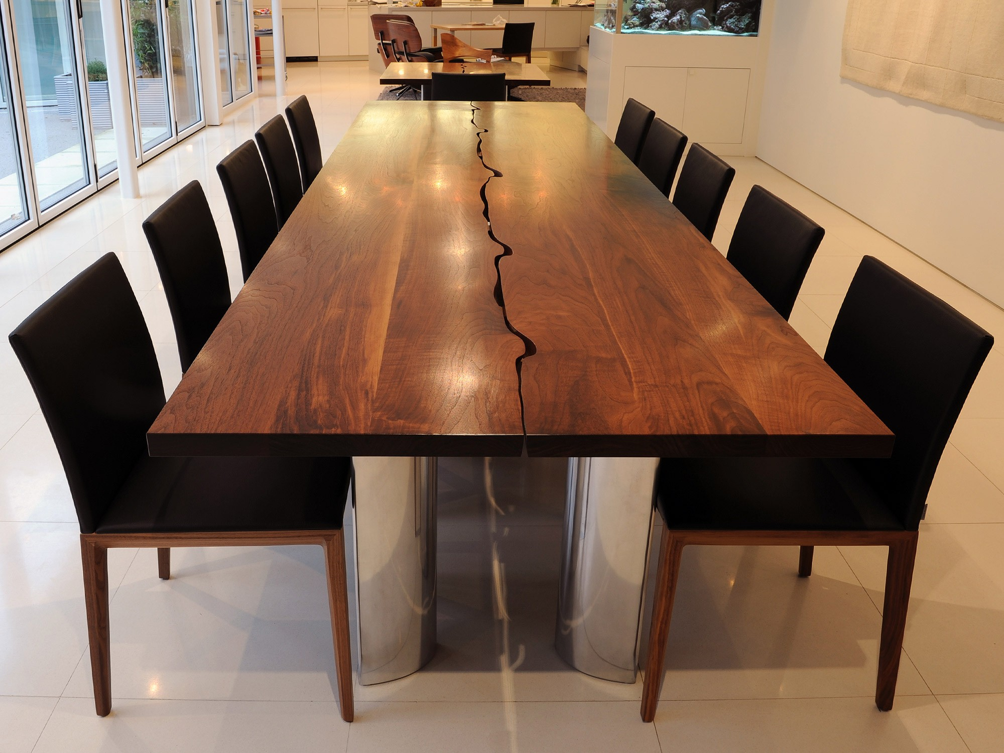 wood dining table ... unbelievable design modern wood dining room table 4 modern wood dining IILHHBO