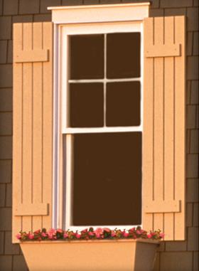wood shutters millwork KFKTSOR