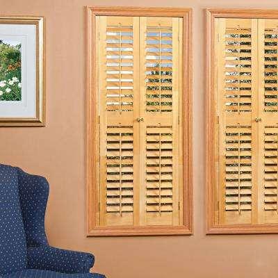 wood shutters - plantation shutters - the home depot OCDVFOK