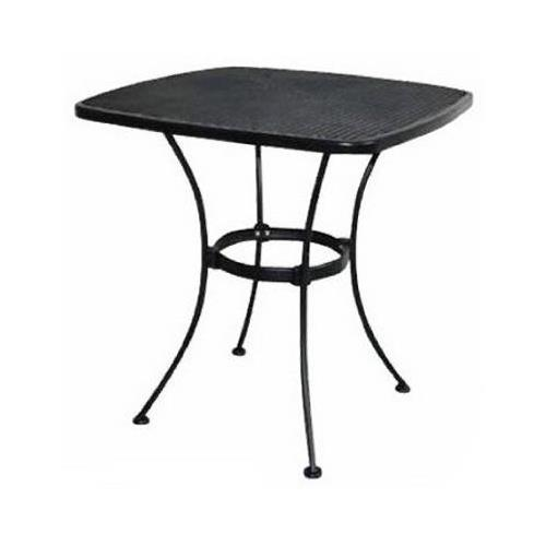 woodard cm wi-300-t uptown collection patio bistro table, steel mesh, KIYKGTV