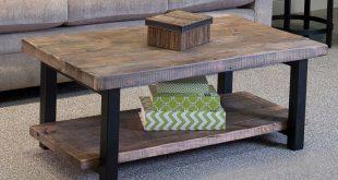 wooden coffee tables loon peak somers 42 QTCFHTD