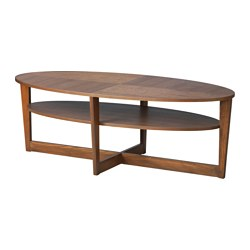 wooden coffee tables vejmon coffee table, brown length: 55 1/8  SDXJZNW