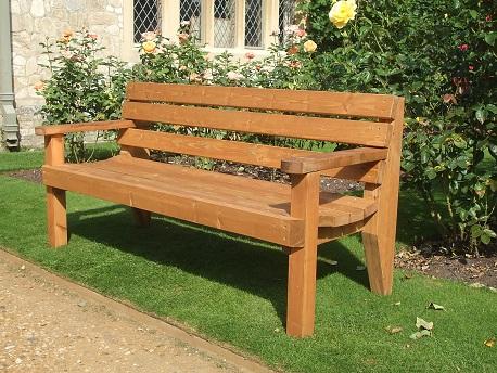 wooden garden benches lightbox ZXQJSFO
