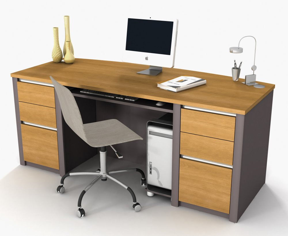 wooden office desk WHJZIRY