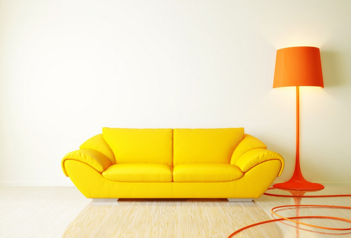 yellow sofa the unique yellow piece QURZFCC