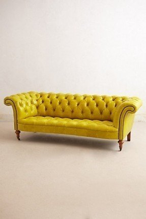 yellow sofa yellow tufted sofa foter ZGGMWQQ