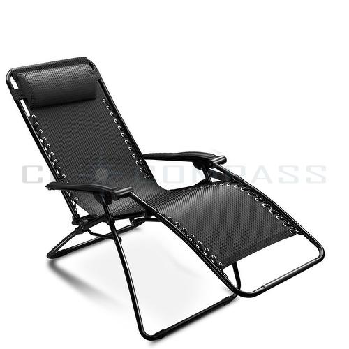 Reclining Garden Chairs attractive reclining lounge chairs patio folding zero gravity chair  recliner outdoor beach DSULSBK