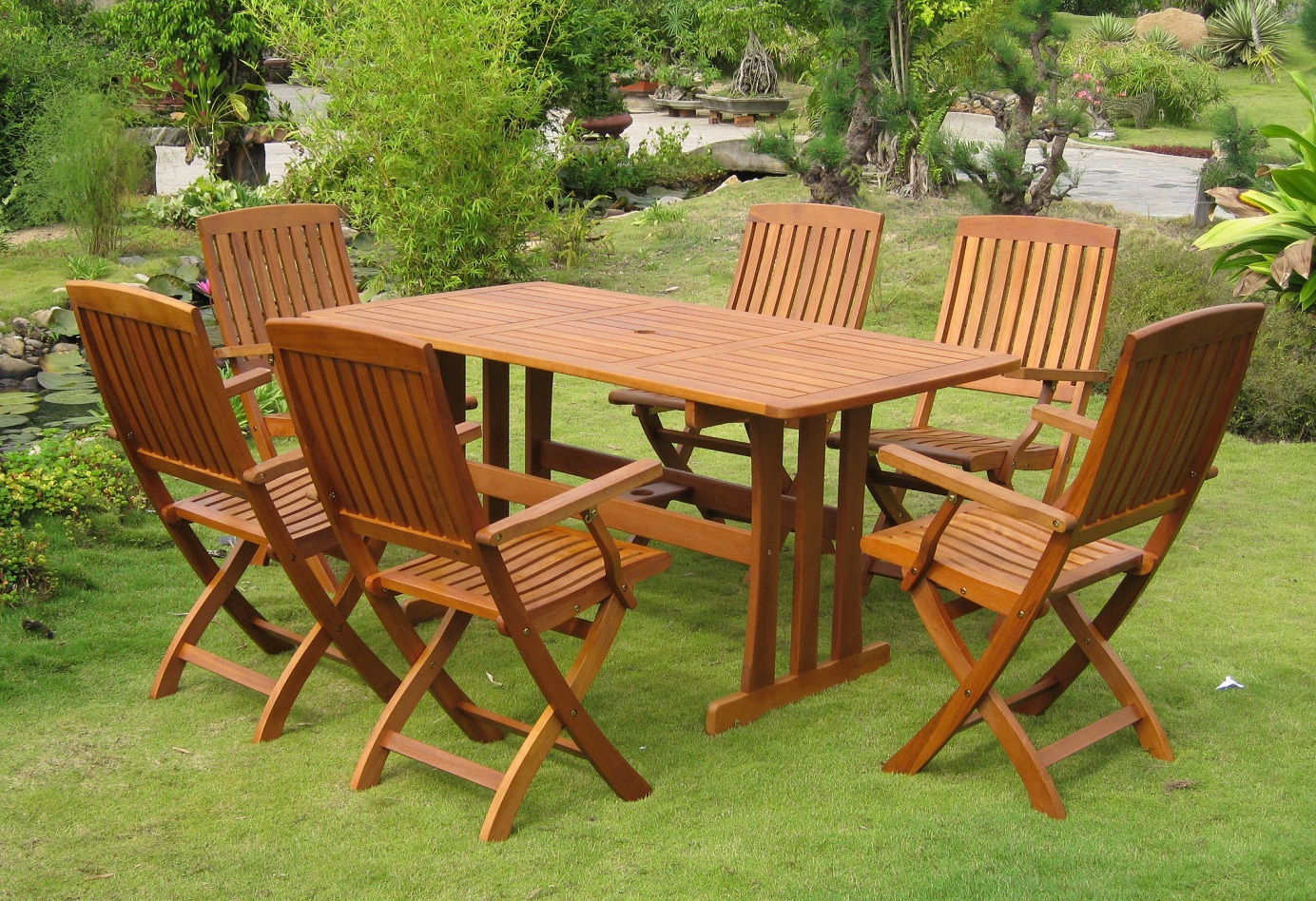 Wooden Garden Furniture wooden garden furniture JSGLAHI