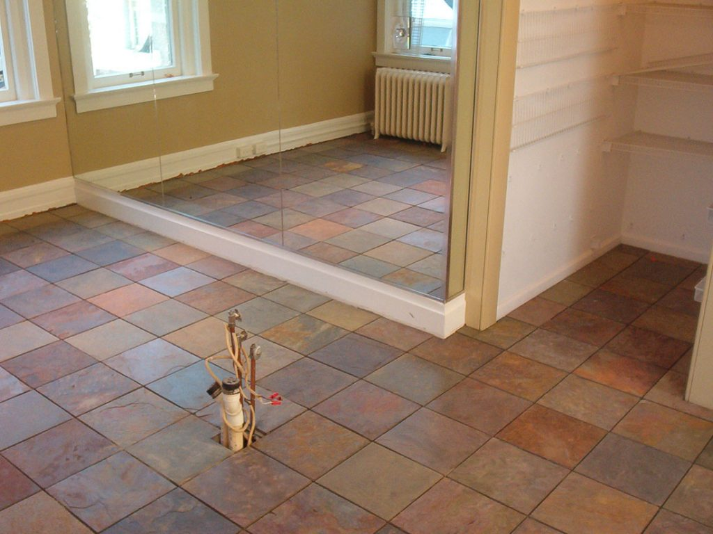 ... rustic tile flooring ... RRVXZJP