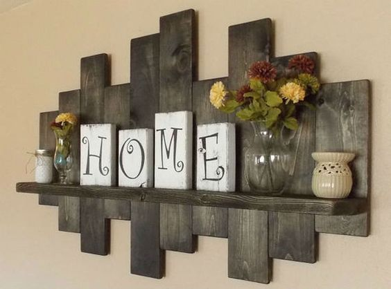 11 inspired rustic wall decor ideas that easy but beautiful ZQWOTDB