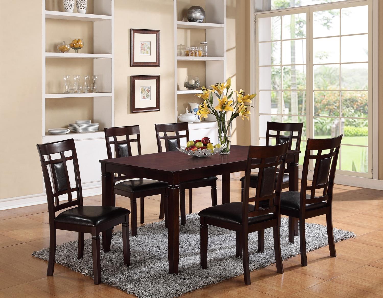 7 piece dining set dining set CTQEDGB