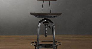 adjustable bar stools with backs LEUZBMM