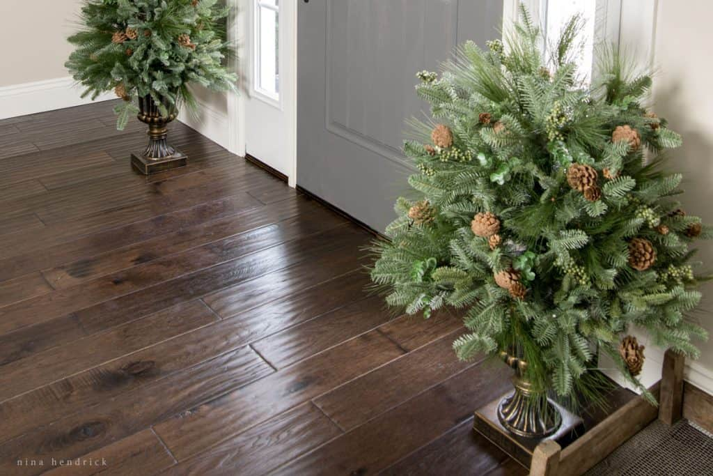 all about our dark hardwood floors | a review and the pros and AKVQHEU