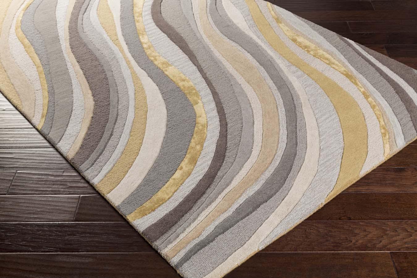 artistic rug artistic weavers lounge lge-2291 carmen grey/gold rug DPJSETE