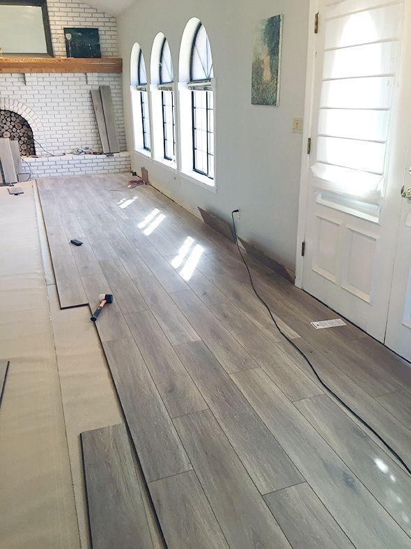 basement flooring water-resistant laminate flooring - little green notebook TQVRYFU