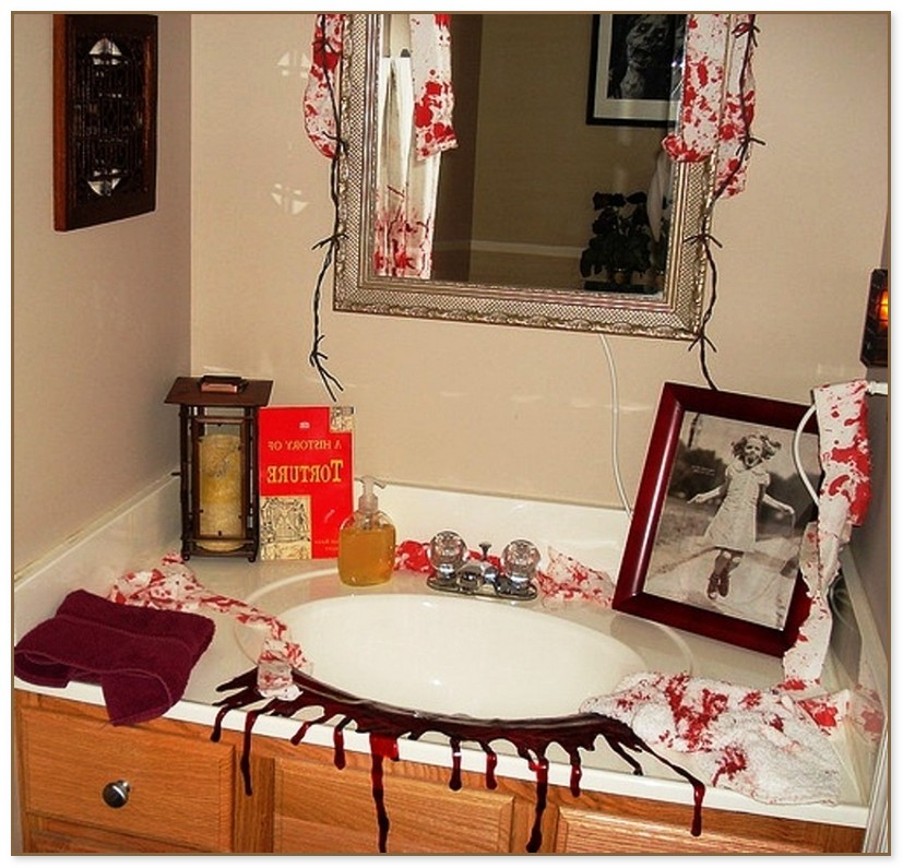 Bathroom Decor Sets halloween bathroom decor sets EMKLYHS