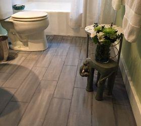 bathroom floor tile or paint, bathroom ideas, diy, flooring, painting DNBAYNN