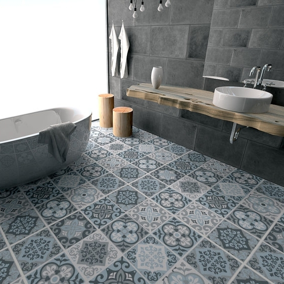 Bathroom flooring floor tile decals flooring vinyl floor bathroom flooring bathroom floor  vinyl tiles VFAGQHS