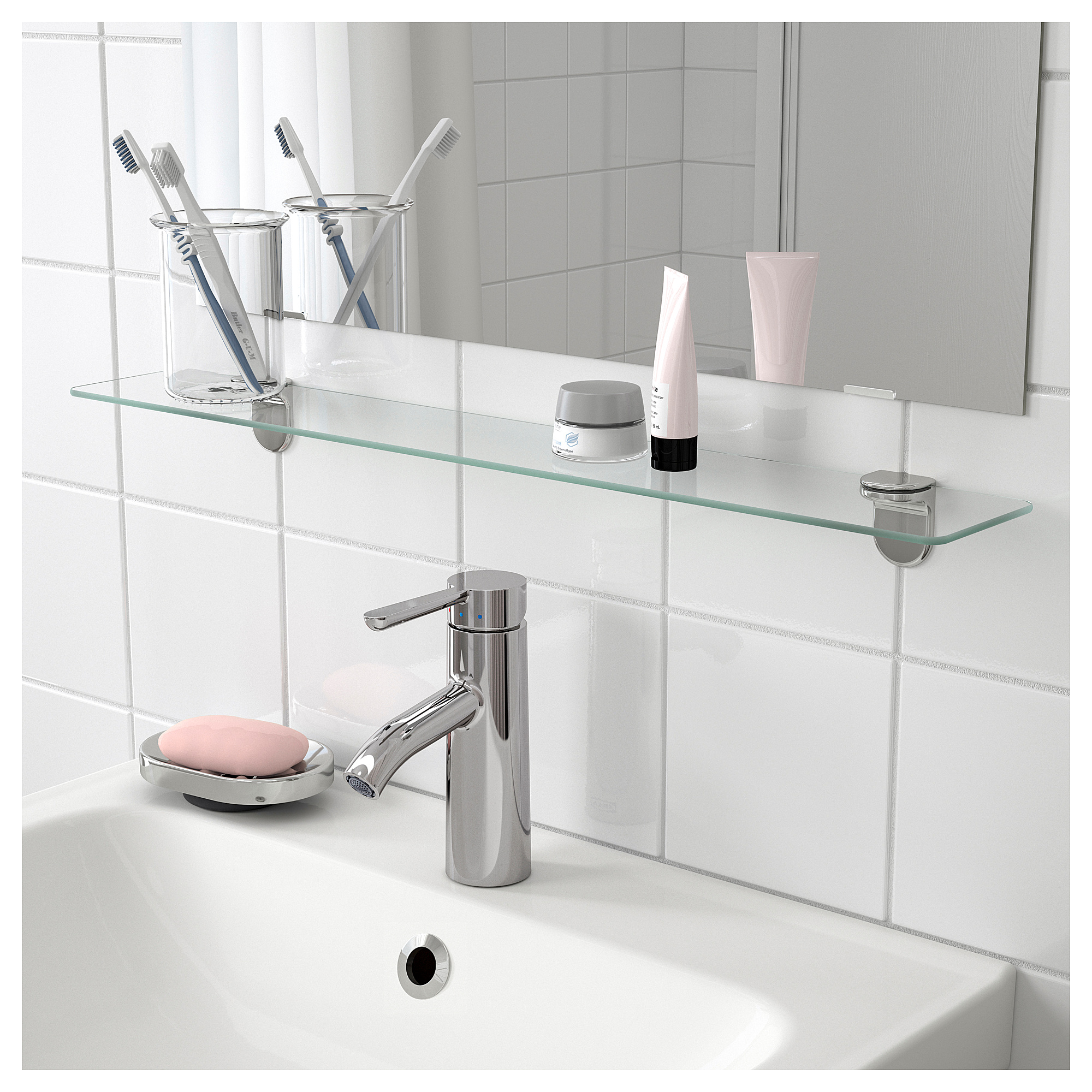 Bathroom Glass Shelves stunning design glass shelves for bathroom madrigalibz site CKUPBQD