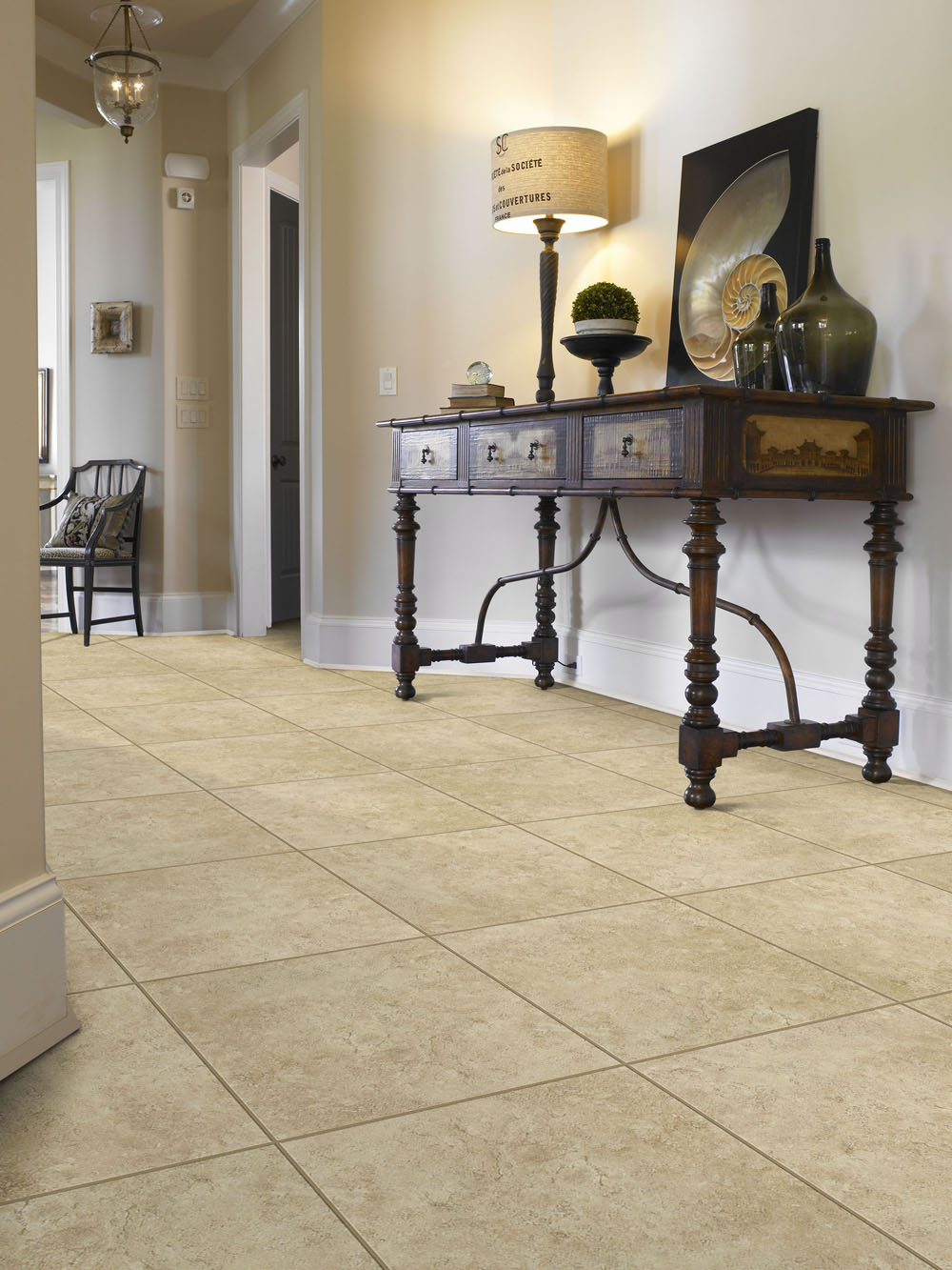 best flooring options tile flooring in entryway with front table and lamp PBDDRLR