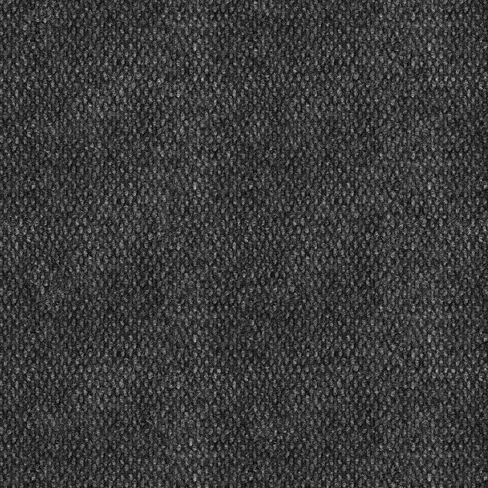 black carpet trafficmaster stupendous black ice texture 18 in. x 18 in. carpet tile (16 DDTHOPJ