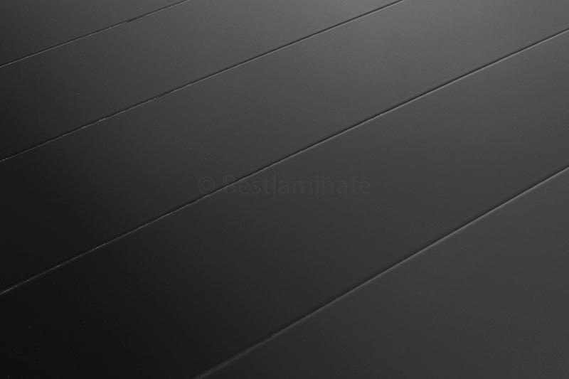 black laminate flooring - super high gloss 8.7mm ac4 bevel by elsgo -sample PQCTSAH
