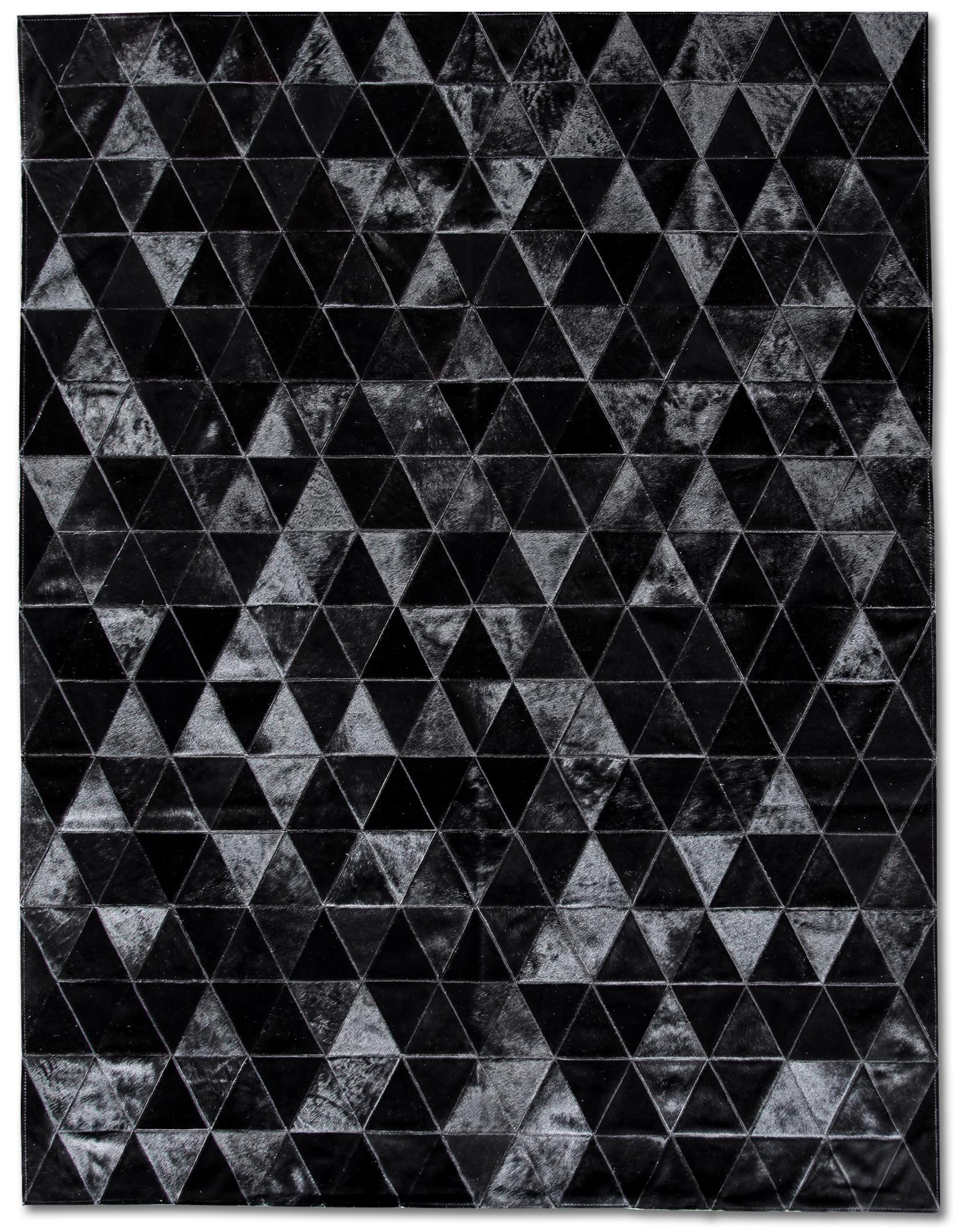 Black rugs bespoke global - product detail - kahn cowhide rug - black IMNZYFK