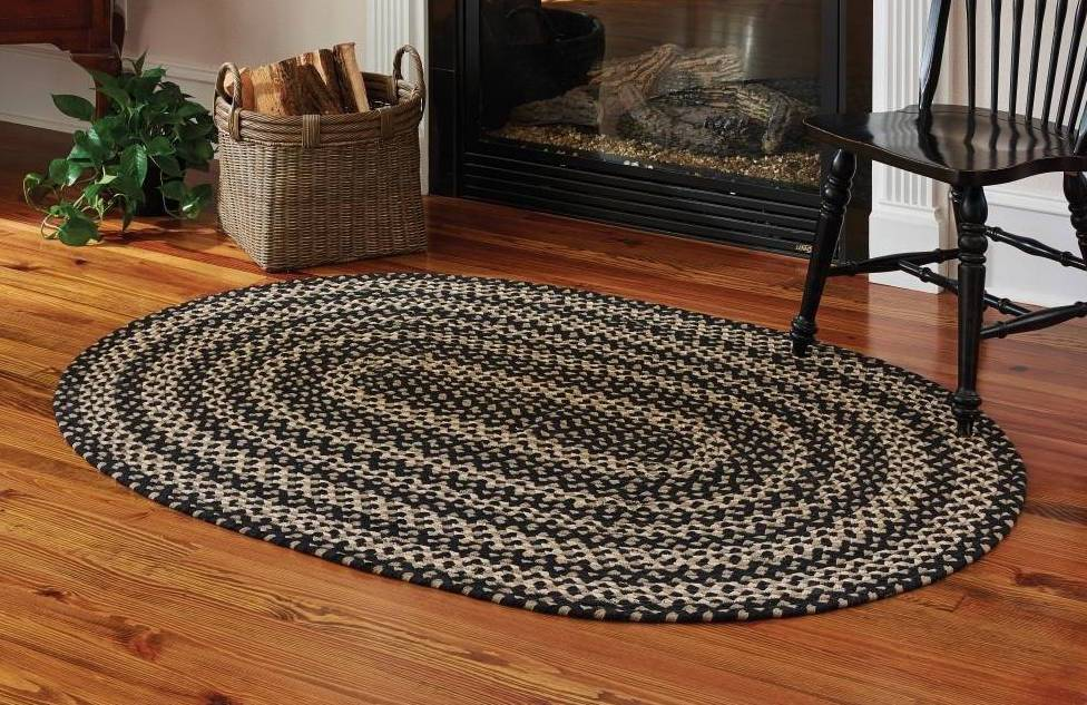 Maintaining and taking care of braided rug