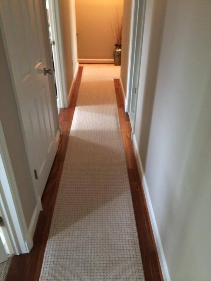 carpet runner on carpet crofton custom hall runner ... ESOFWRI