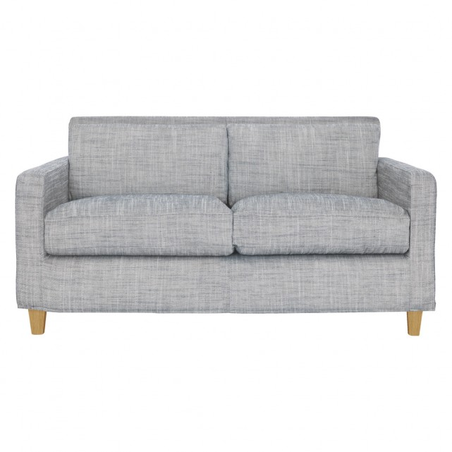 chester black u0026 white italian woven fabric 2 seater sofa | buy now TCLATGS