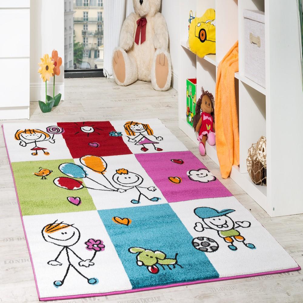 children rugs childrenu0027s rug cheerful children multicolour 001 LVZZPAY