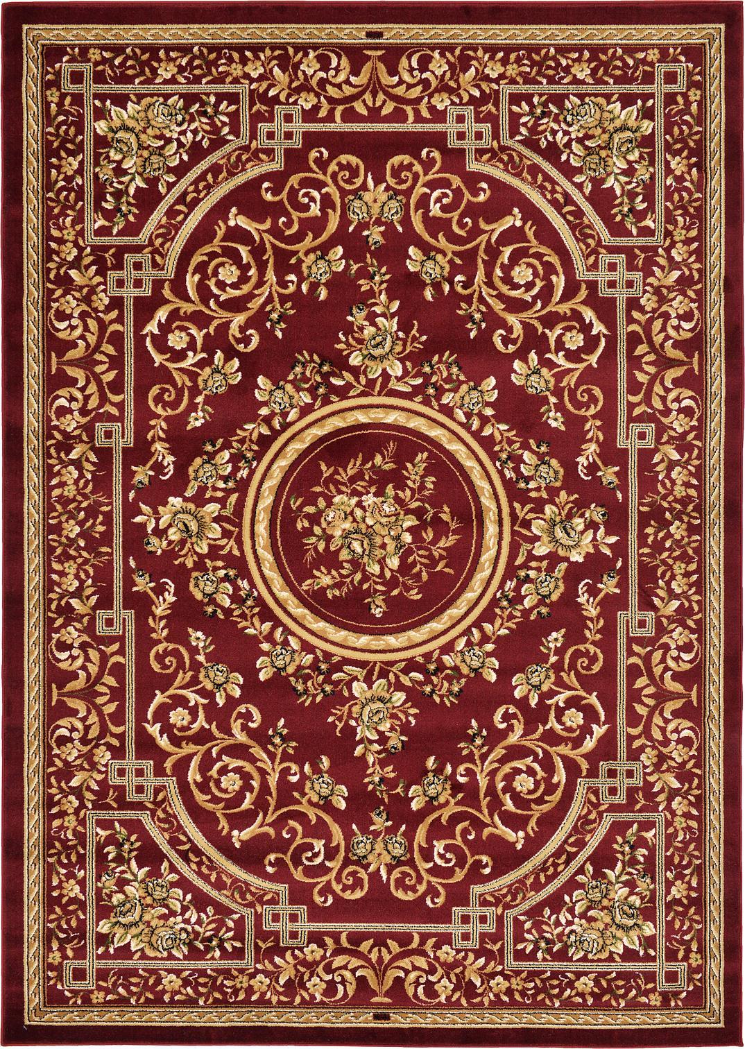 classic rugs 7u0027 x 10u0027 classic aubusson rug HGIVHZF