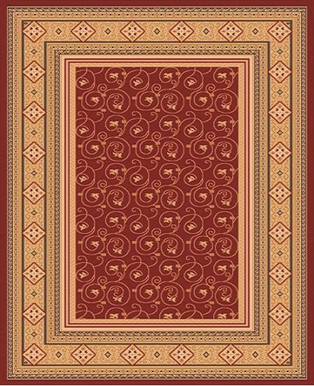 classic rugs picture of classic bordered ivy tulip centered floral super mega rug TBZHNXL