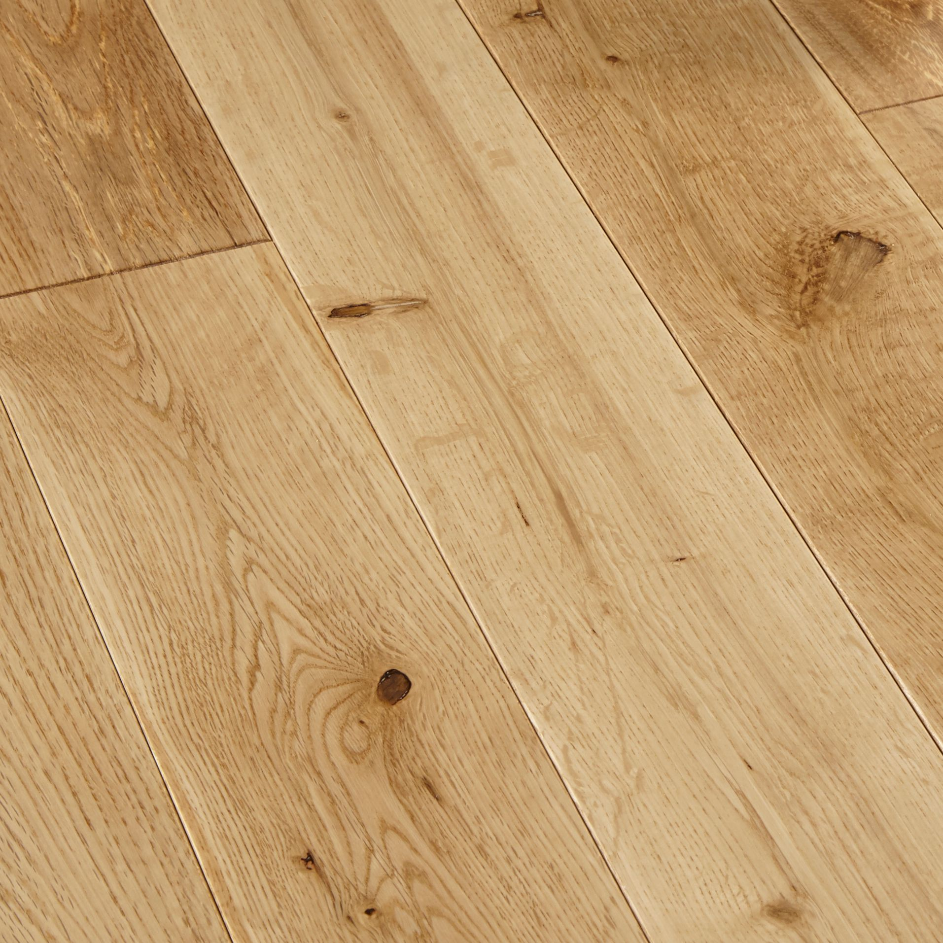 colours rondo natural solid wood flooring 1.296 m² | departments | diy at PJAYZNG