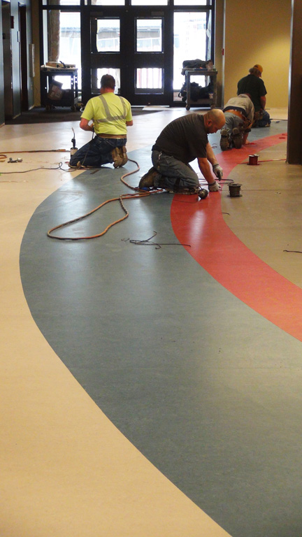 commercial flooring project gallery NEZRRPG