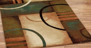 contemporary area rugs beckett rectangle rug brown REVETHS