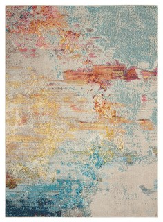 contemporary area rugs marfa outpost area rug - contemporary - area rugs - by nourison KJPQZST