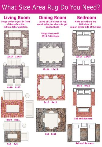 Correct rug sizes ... there is a rug that will complement it beautifully. if you need XOUOIRL