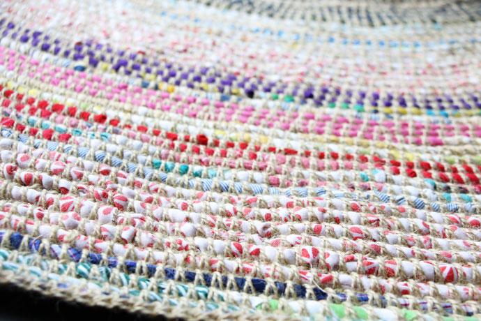 crochet rag rug diy mypoppet.com.au ZOVEVAY