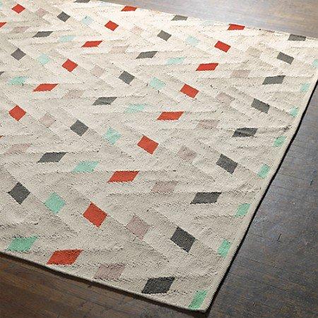 dhurrie rugs muku cotton dhurrie rug in rugs | cb2 RUDYKNB