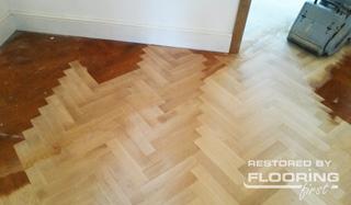 diagonal parquet floor sanding XGVIDWP