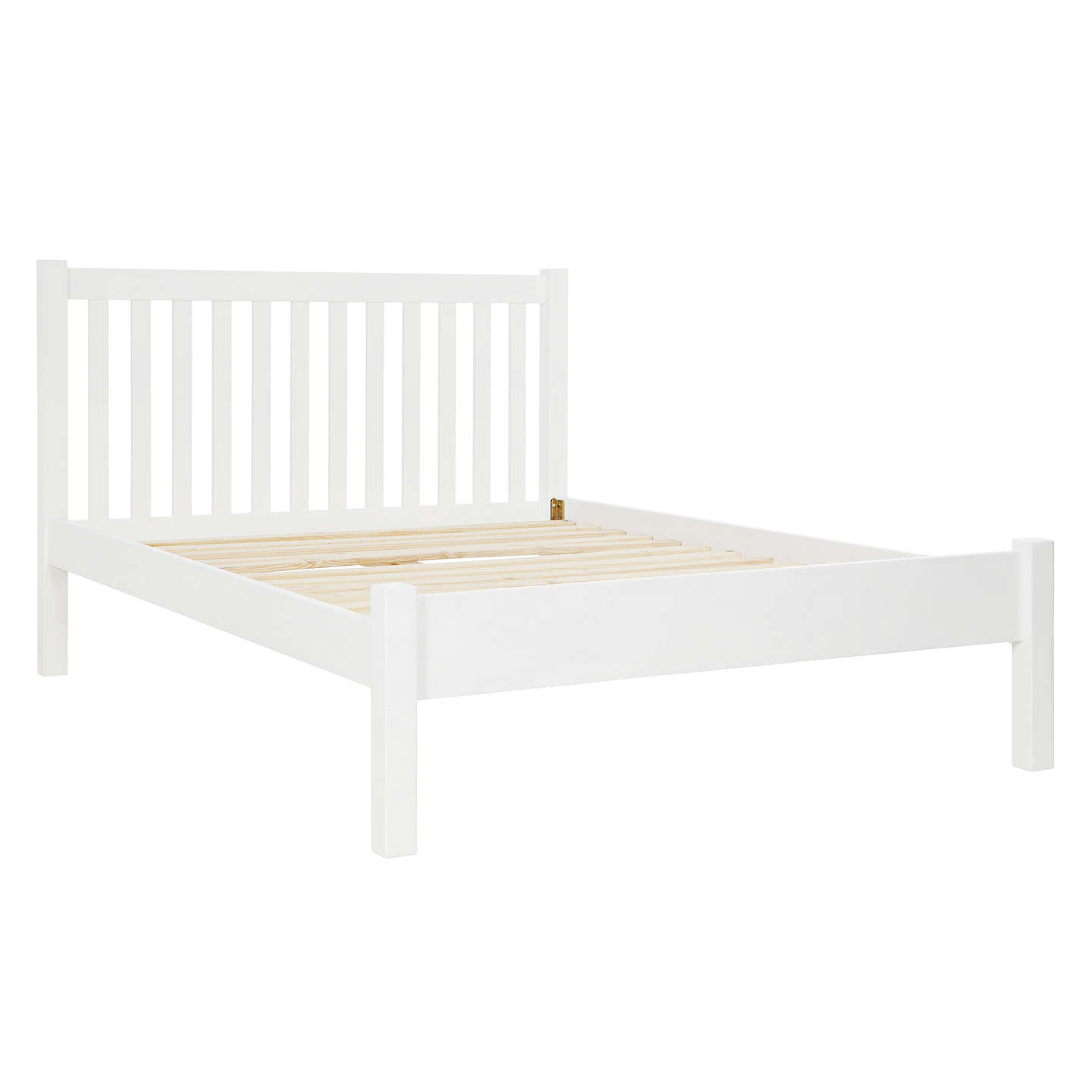 double bed frames buyjohn lewis wilton bed frame, double, white online at johnlewis.com ... HUPMBBL