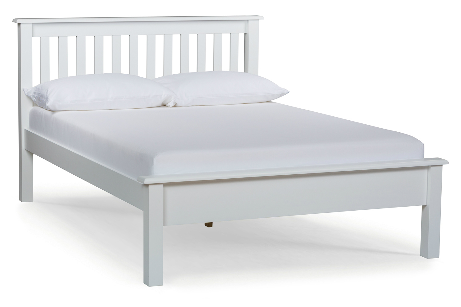 double bed frames shaker double bed frame | 4ft6 | white ... YICIHTU