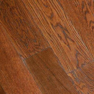 engineered hardwood floors gunstock oak 3/8 in. thick x 5 in. wide x varying length ESJYRFB